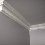 crown molding with return